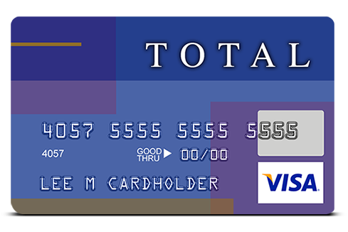 Total Visa Card